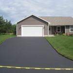 June 28th Residence #2 After asphalt sealing
